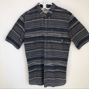 Vans Off The Wall Casual Short Sleeve Mens Shirt